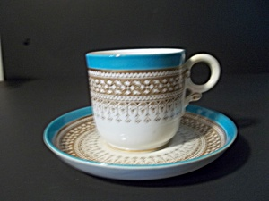 Royal Worchester Demitasse Cup And Saucer