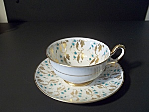 Vintage Royal Chelsea Teacup And Saucer