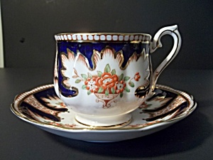 Royalty Teacup And Saucer By Royal Albert