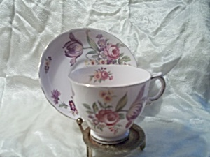 Tuscan English Fine Bone China Teacup and Saucer (Image1)