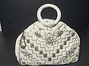 Vintage Beaded Evening Bag