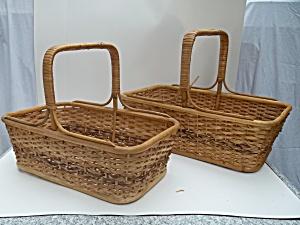 Market baskets,  2 different sizes (Image1)