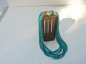Teal Blue Necklace (Image1)