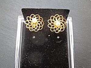 Vintage Pearl Clip-ons (Image1)