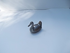 Pewter and Brass Duck (Image1)