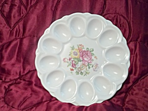 E & R American Artware Deviled Egg Plate