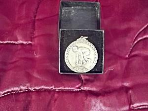 Horace Mann 1925 Track Meet  Sterling Medal (Image1)