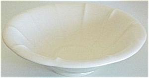 Franciscan Pottery Cielito White Art Bowl (Image1)