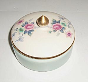 Franciscan Pottery Kaolena China Floral Covered Box (Image1)