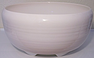 Franciscan Pottery El Patio Gloss White Punch Bowl