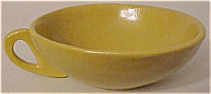 DROMORE POTTERY HANDMADE YELLOW COFFEE CUP! (Image1)