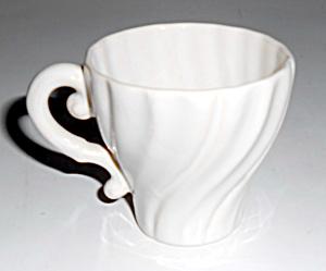Franciscan Pottery Coronado Rare Gloss White Demi-cup! (Image1)