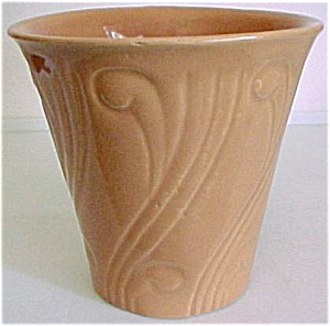 "Pacific Pottery Early Art Deco 5-3/4"" Flowerpot"