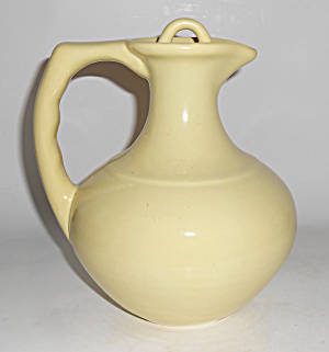 Franciscan Pottery El Patio Satin Yellow Carafe W/Cap! (Image1)