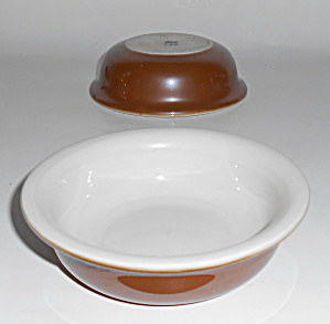 Coors Pottery Glenco Thermo Porcelain Large Ramekin