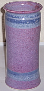 "BRUNING STUDIO POTTERY SEATTLE 8.5"" VASE! (Image1)"