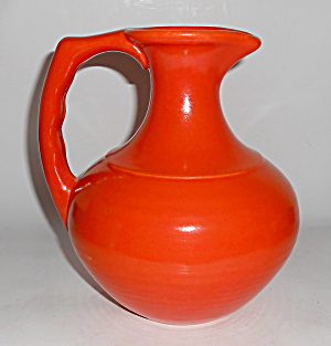 Franciscan Pottery El Patio Flame Orange Carafe!  (Image1)