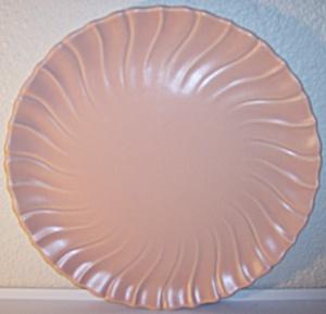 "FRANCISCAN POTTERY CORONADO CORAL 12"" CHOP PLATE! (Image1)"