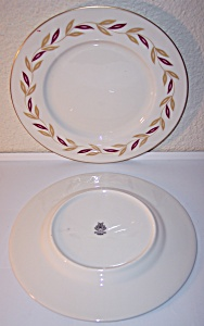 CASTLETON CHINA VICTORIA SALAD PLATE!  FLAWLESS (Image1)