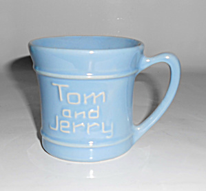Pacific Pottery Hostess Ware Light Blue Tom & Jerry Mug
