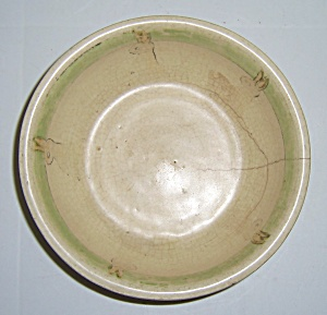 ROSEVILLE POTTERY JUVENILE BUNNY DECORATED BOWL! (Image1)