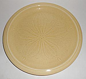 Franciscan Pottery Sculptures Sand Dollar Dinner Plate! (Image1)