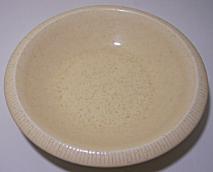 FRANCISCAN POTTERY PRIMARY SCULPTURES SAND CEREAL BOWL! (Image1)
