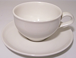 Russel Wright Pottery Iroquois Restyled Cup/saucer Set