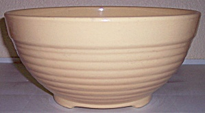 BAUER POTTERY RING WARE VERY RARE IVORY PUNCH BOWL! (Image1)