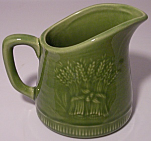 Franciscan Pottery Wheat Winter Green Miniature Jug