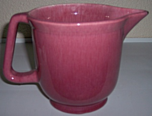 METLOX POTTERY SERIES 200 OLD ROSE BEATING PITCHER! (Image1)