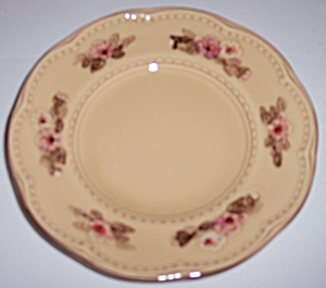 FRANCISCAN POTTERY ROSETTE BREAD PLATE! (Image1)