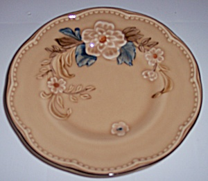 FRANCISCAN POTTERY BOUQUET BREAD PLATE! (Image1)