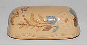 Franciscan Pottery Bouquet Butter Dish Lid