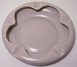 FRANCISCAN POTTERY EL PATIO SATIN GREY LARGE ASHTRAY! (Image1)