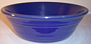 PACIFIC POTTERY HOSTESS WARE COBALT PUDDING DISH! (Image1)