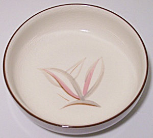 WINFIELD CHINA POTTERY DRAGON FLOWER FRUIT BOWL! (Image1)