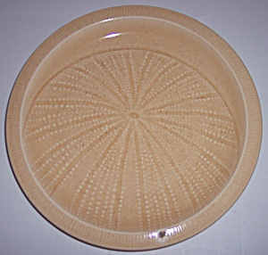 Franciscan Pottery Sculptures Sand Urchin Lunch Plate