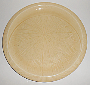 Franciscan Pottery Sea Sculptures Urchin Sand Dinner Pl