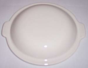 Franciscan Pottery Sculptures White Primary Cass Lid