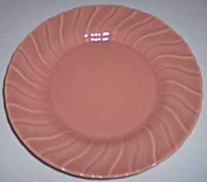 FRANCISCAN POTTERY CORONADO GLOSS CORAL 7.5 PLATE! (Image1)