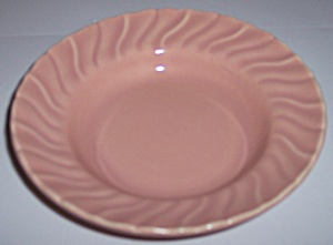 Franciscan Pottery Coronado Gloss Coral Fruit Bowl (Image1)