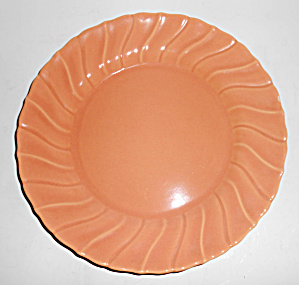 Franciscan Pottery Coronado Gloss Coral 9in Plate (Image1)