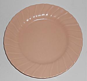 "FRANCISCAN POTTERY CORONADO SATIN CORAL 8"" PLATE! (Image1)"