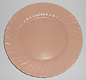 Franciscan Pottery Coronado Satin Coral 10'' Dinner Pl