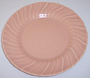 "FRANCISCAN POTTERY CORONADO SATIN CORAL 7"" PLATE! (Image1)"