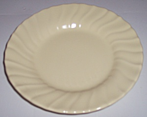 "Franciscan Pottery Coronado Satin Yellow 6"" Plate"