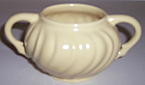 Franciscan Pottery Coronado Satin Yellow Sugar Bowl