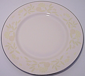 Franciscan Pottery Fine China Crinoline Salad Plate