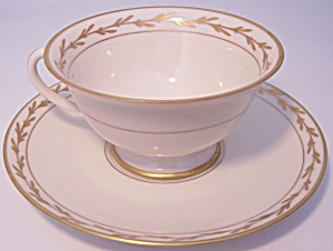 Franciscan Pottery Fine China Beverly Cup/saucer Set